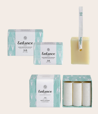 Protective Purifying Soap Precious Paper