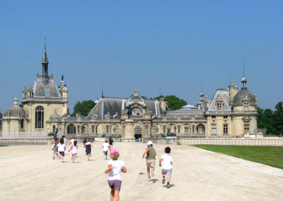 A family outing : The Domaine De Chantilly